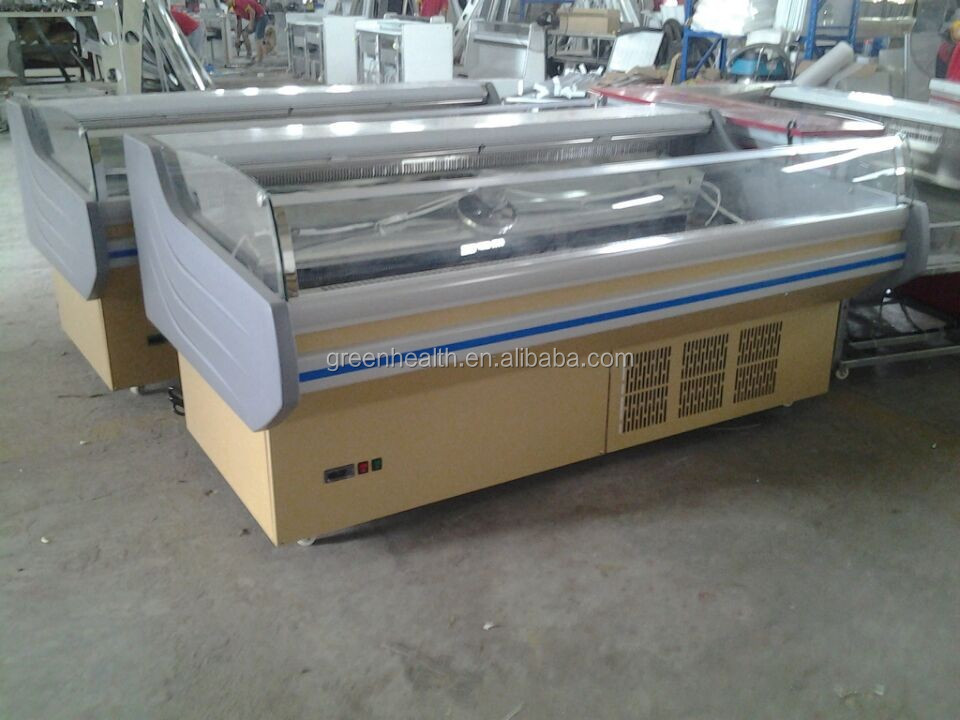 Stable performance commercial meat counter for supermarket/shop factory