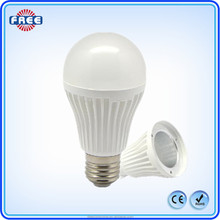 E27 SMD 10W led bulb light aluminum plastic housing/cover for led bulb lamp
