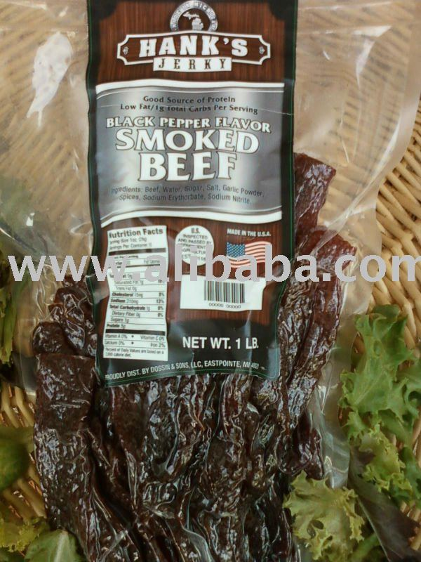 Hank's Beef Jerky & Beef Sticks