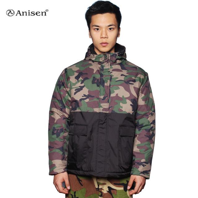 new design wholesale windbreaker outdoor hunting camouflage winter man jacket