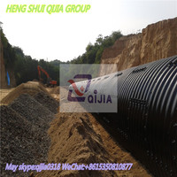 corrugated steel pipe from Heng shui qijia company