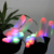 High Quality Hot Selling Party Fantastic Led Gloves White Finger Led Gloves Factory