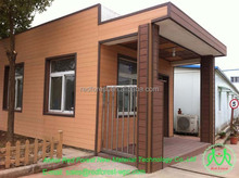 wood plastic composite WPC external wall cladding/wall panel/facade