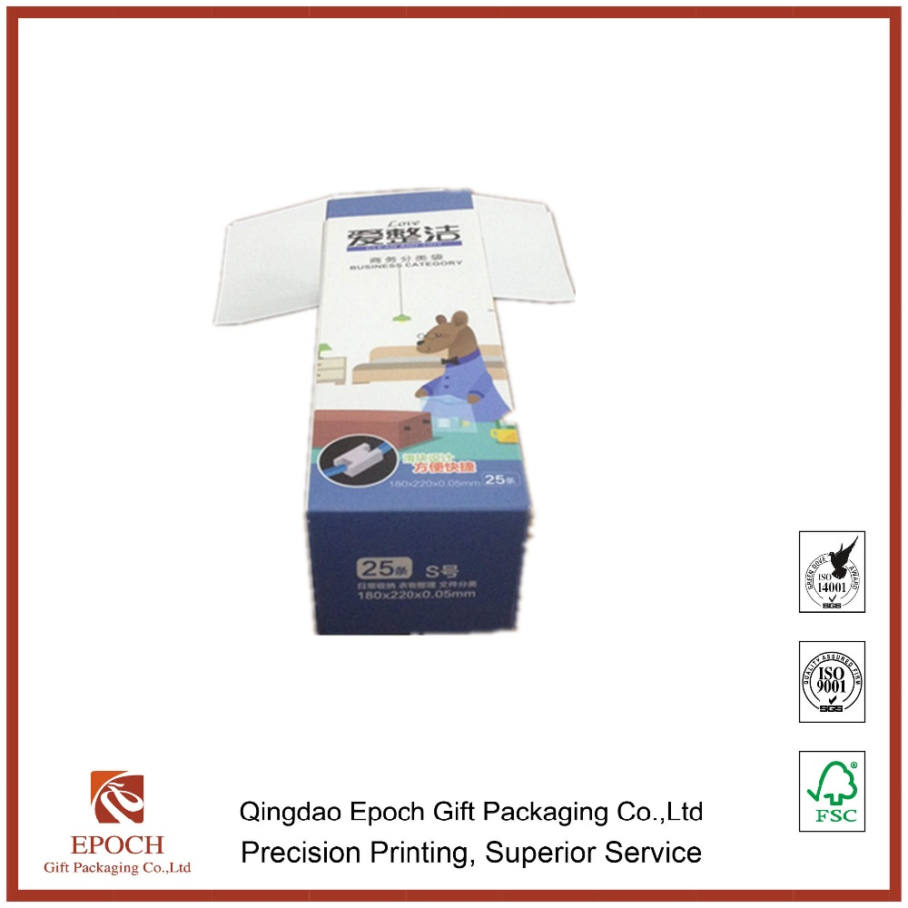 buggy bag folding packaging paper box