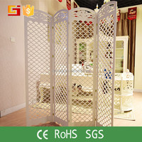 Moroccan carved wpc partition movable screens room dividers