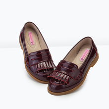 Top Sale Guaranteed Quality leather Girls Pink Glitter school Shoes sale