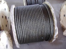Made in China high quality galvanized steel wire rope 10mm