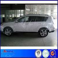 PE clear disposable plastic car cover/cover sheet