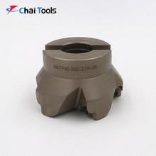 90 degree carbide insert face milling cutter for CNC machine