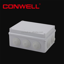 150x110x70mm square CE reached sealed plastic distribution box