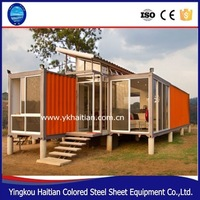 Luxury quality 40ft living container house,2016 design living 20ft container house,mobile office containers