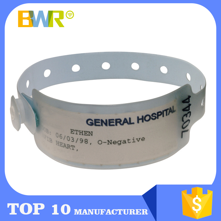 Smart Rfid Access Control Hospital Wristband Price, Custom Writable Patient Id Wristband Tags, Programmable Medical Id Bracelets