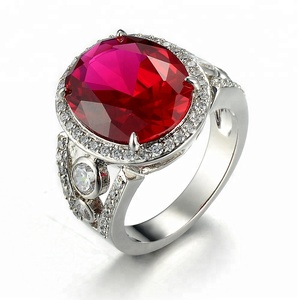 ruby ring engagement ring sterling silver ring