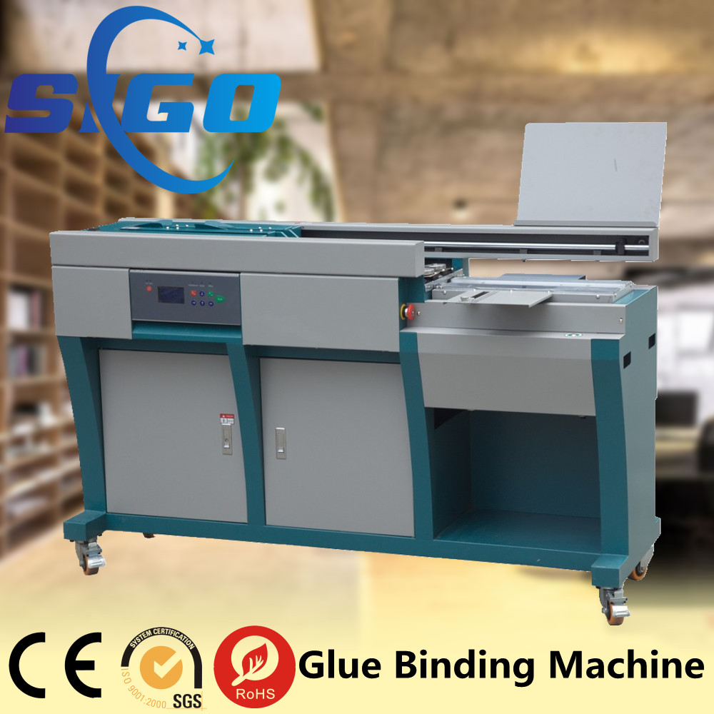 Automatic perfect glue book paper binding machine price