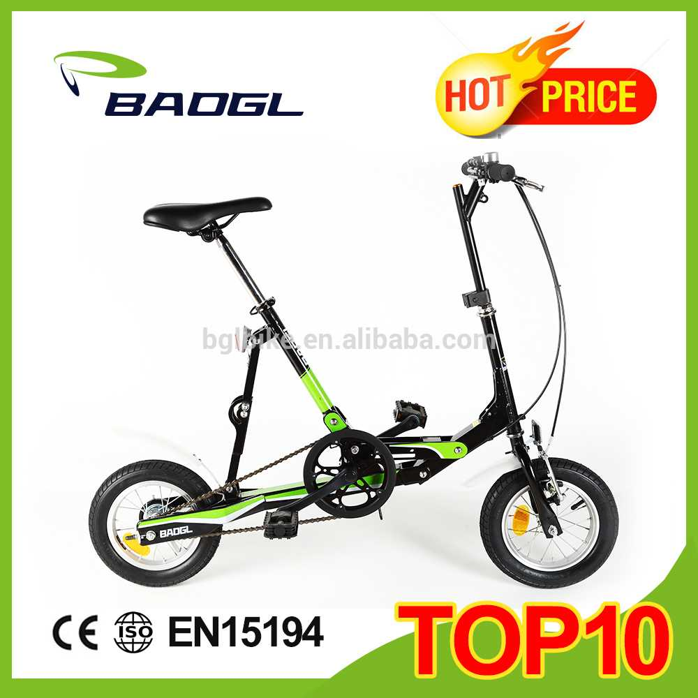 12 inch fashion mini folding bicycle prices of heavy bikes