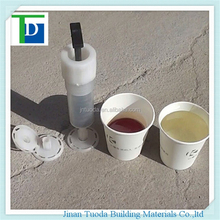 concrete crack mend materials Low viscosity two-component epoxy resin grout