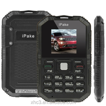 "LOW PRICE IPake Q8 Black MINI smartphone 1.5"" GSM Mini Ultrathin Rugged Dustproof and Shockproof Card size mobile Phone"