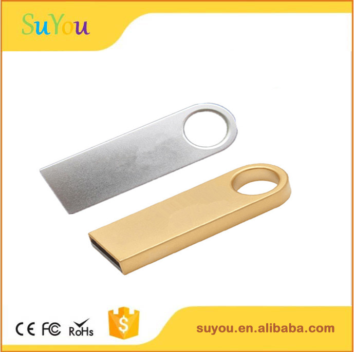 Factory wholesale 8gb 16gb 32gb 64gb usb 2.0 mini flash drive ,metal usb flash drive