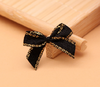 hi-ana artificial flower Black Phnom Penh Ribbon Hand Wrap Ribbon Small Bowknot Small Flower