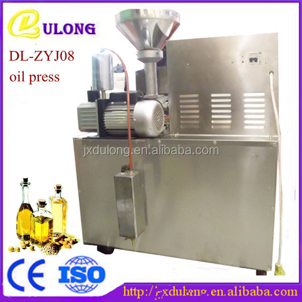 DL-ZYJ08 professional design mini pumpkin/sesame oil cold press machine