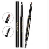 new high quality eye brow pencil with brush cheap eyebrow pencil