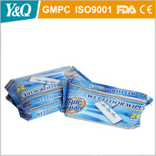 China Factory OEM Cleaning Disposable Mop Wipe