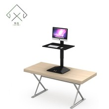 Electronic sit and stand work table electric height adjustable desk