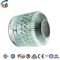 High effiency bottom price led high bay light fittings and fixtures