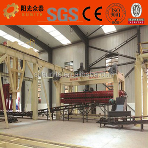 large cellular concrete block making machine sold at low price for india