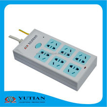 made in China leakage protection 10A 16A plug with socket