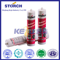 Structural neutral silicone sealant for double glass