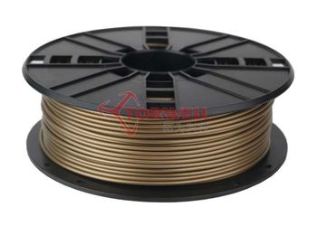Gold 1.75/3.0mmmm ABS Filament for 3D Printer RoHS certification