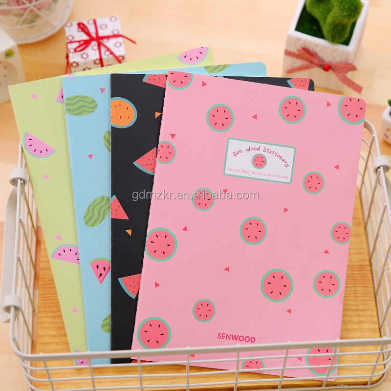 Wholesale custom printed notebook manufacturing machine for exquisite sewing binding notebook
