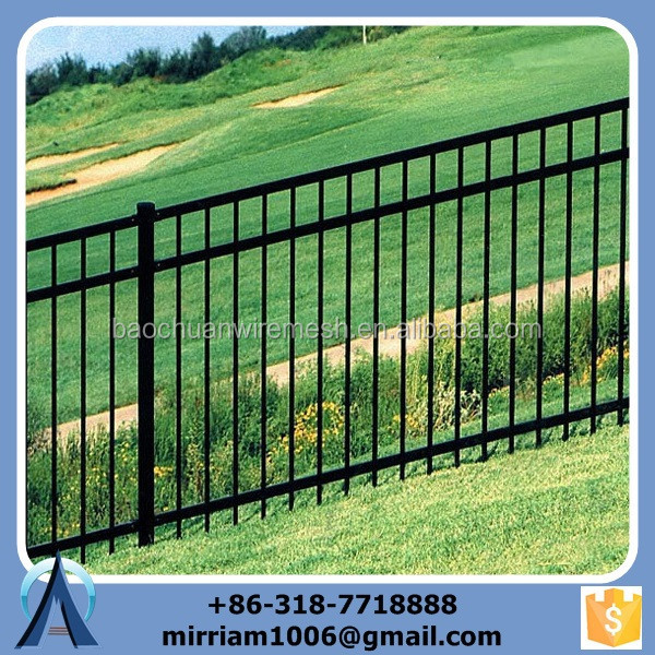 2015 low price ISO9001 industrial steel safety fencing