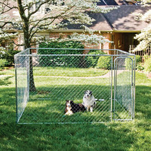 High quality hot dipped galvanized cheap dog play pen chain link dog kennels runs