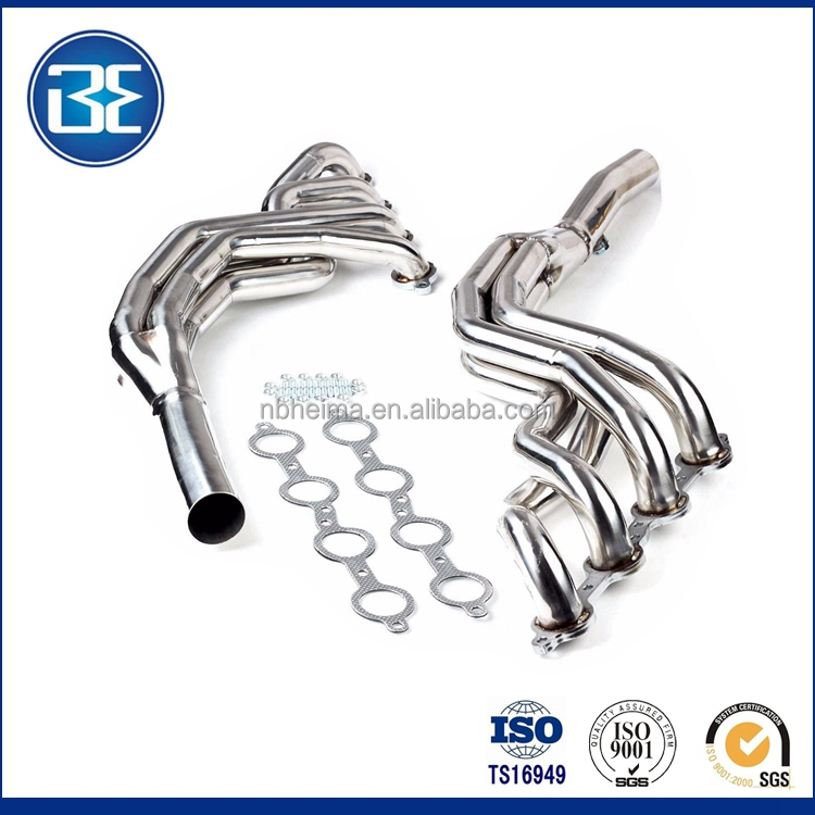 1 3/4'' Flexible exhaust Headers Fits 2010-2015 Chevy Camaro SS 6.2L V8