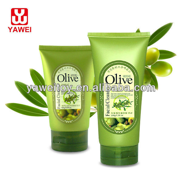 Exfoliating Facial Cleanser 100g/200g olive oil face foam cleanser