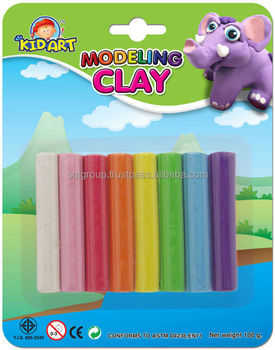 Clay-Regular 8 colors 100g-Blister Card