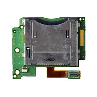Repair Part Slot 1 Card Socket with Flex Cable Replacement for Nintendo for New 3DS XL