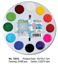 Face and Body Paint Art Sets Round Color Tray Face Painting Water Based Non Toxic