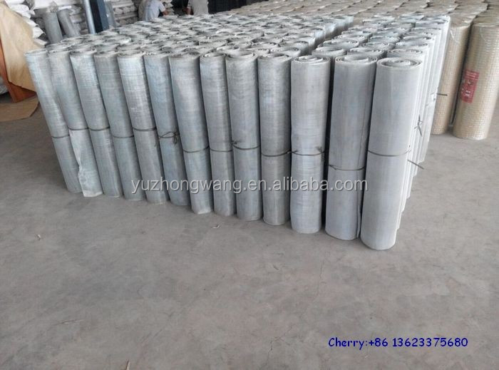 Galvanized window screen/insect mesh ( Anping factory )