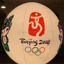 inflatable balloon with lighting/stand light balloon large/inflatable led ball