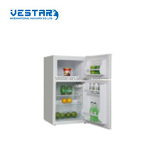 Class A+ double doors BCD-88 model new design white top mounted refrigerators