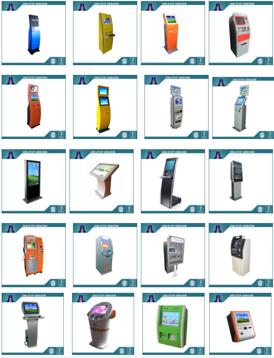 Dual touch screen payment kiosk and payment kiosk terminal manufacturer