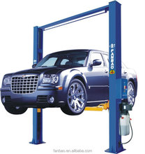 3T car lift QJY3.0-D4 Electromagnetic one side release hydraulic lift with CE certification Shanghai Fanbao