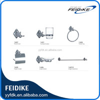Feidike Factory supplied good price modern zinc alloy bathroom accessory sets