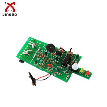 Components stuffed main phone pcb board assembly