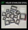 railing stainless steel square base ornaments cover