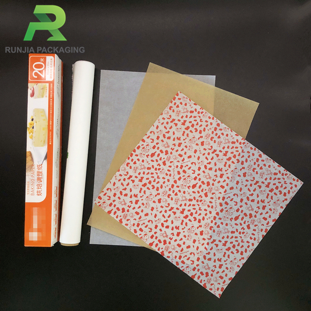 Food Grade Wrapping Packaging Paper For Bakery