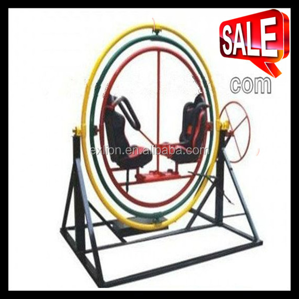 Exciting game machine human gyroscope for kids and adults made in China